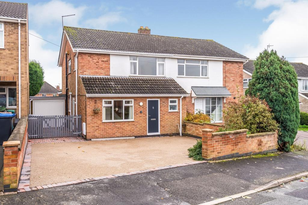 3 bedroom semi-detached house for sale – Croftway, Markfield